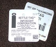 KettleTag® PLUS metal tag